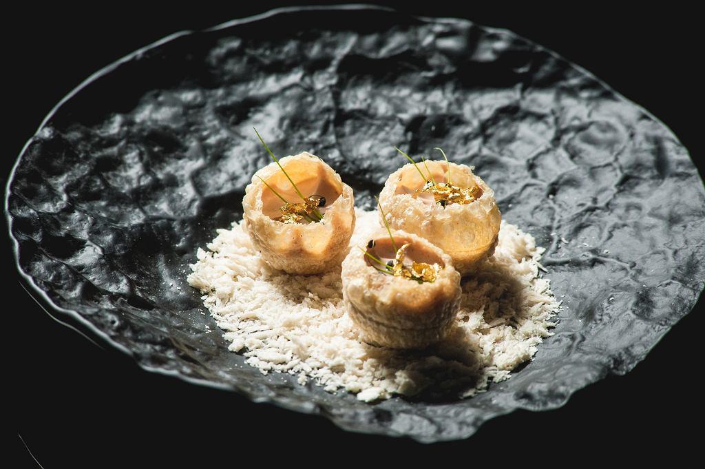 Foie gras w Panorama Sky Bar / mat.pras.