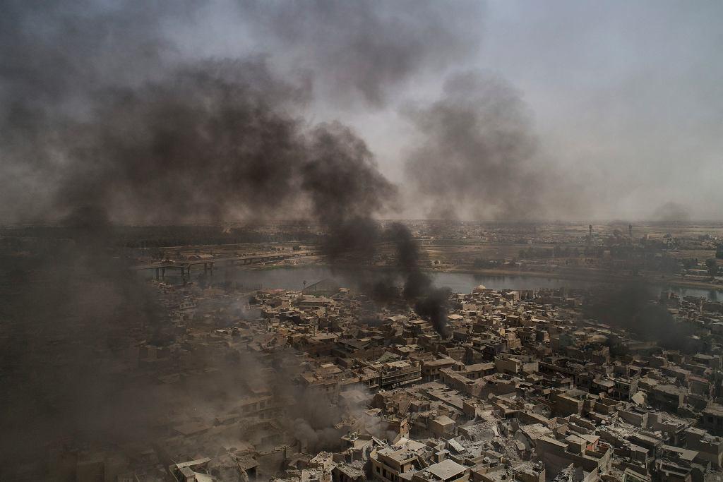 Widok na stare miasto w Mosulu