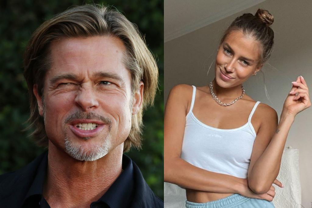 Brad Pitt i Nicole Poturalski
