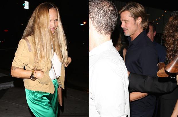 Brad Pitt ma nową partnerkę? Tym razem wiele na to wskazuje. Zwłaszcza fakt, że aktor został przyłapany przez paparazzi u boku pewnej blondynki, gdy wspólnie wychodzili z imprezy.