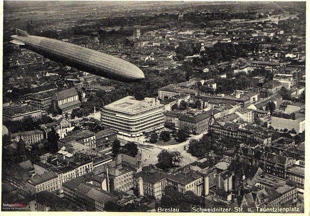 Zdjęcie numer 1 w galerii - Sterowce nad przedwojennym Wrocławiem. Te archiwalne zdjęcia robią wrażenie [GALERIA]