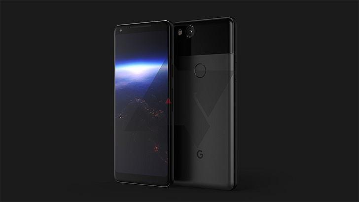 Google Pixel 2 grafika