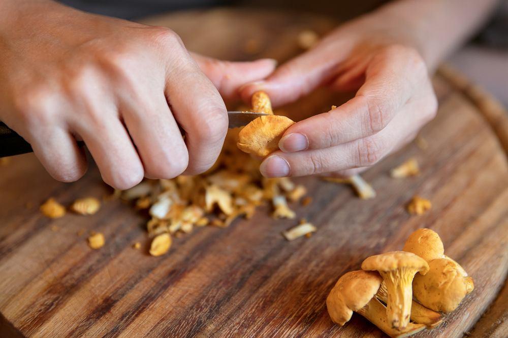 Jak wyczyścić ręce po grzybach?