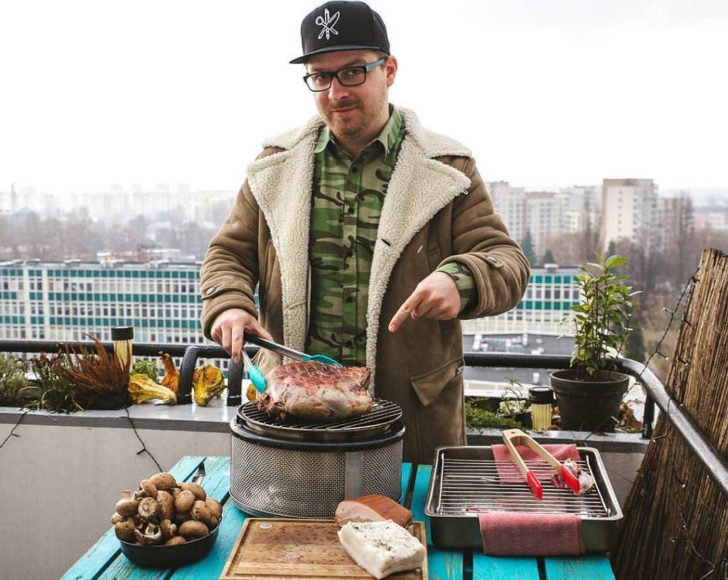 Tomasz Czajkowski, autor bloga Magiczny Składnik / fot. facebook.com/magiczny.skladnik