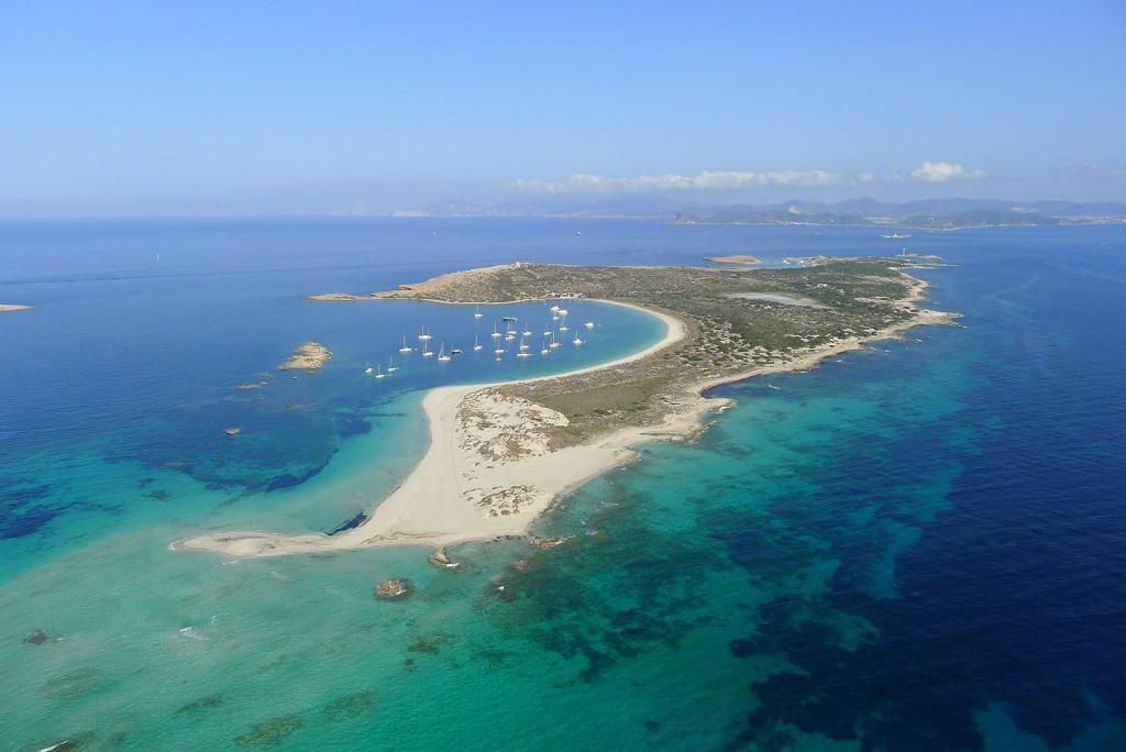 Wyspa Isla de Espalmador