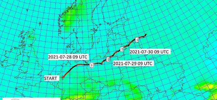 Skażona chmura dotrze do Polski. Na jej przybycie szykuje się Szczecin