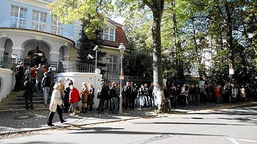 Berlin, Polacy głosują w wyborach parlamentarnych, 2011 r.