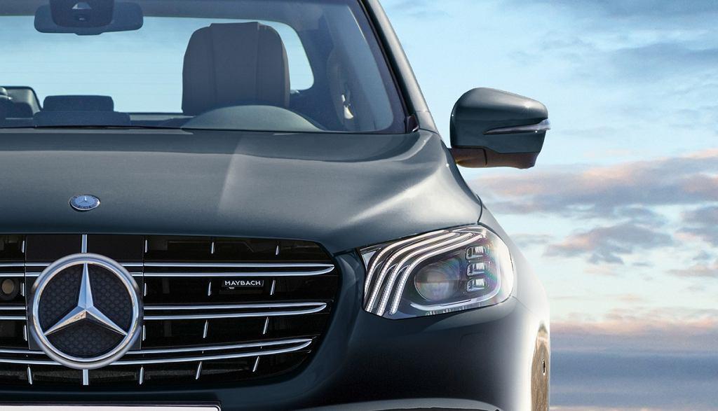 Wizualizacja Mercedesa klasy X Maybach