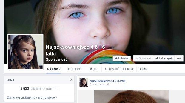 Komentarze na profilu ''Najseksowniejsze 4-, 5- i 6-latki''