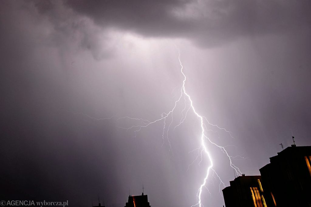 Burza. Zdjęcie ilustracyjne
