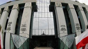 Siedziba Sądu Najwyższego na placu Krasińskich w Warszawie
