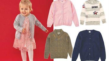Ciepłe swetry dla dzieci na zimę