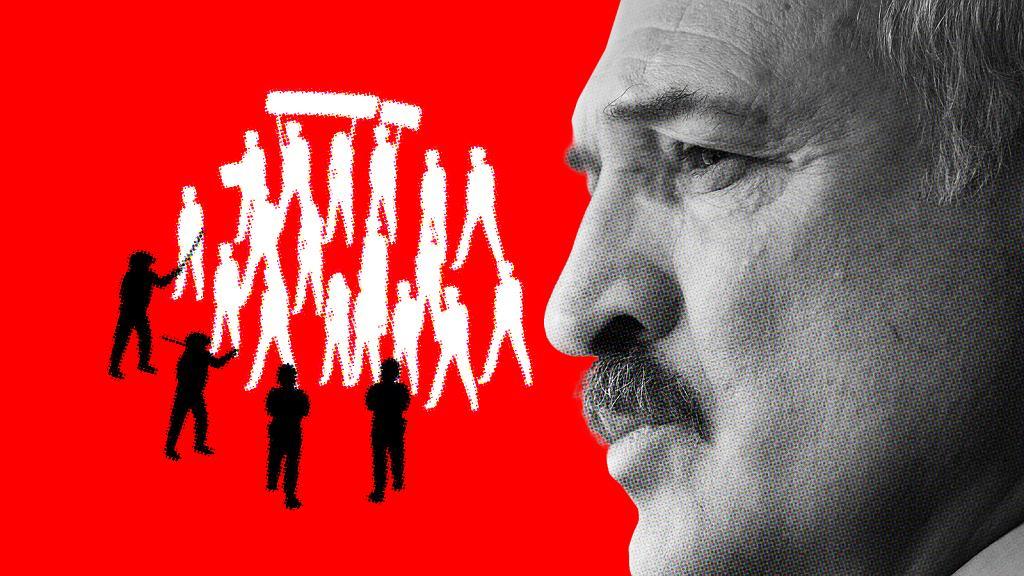Aleksandr Łukaszenka sterroryzował naród, byleby utrzymać władzę