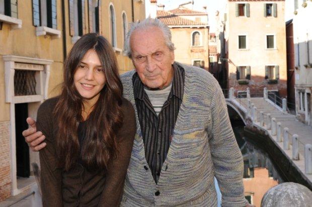 Margherita Missoni z dziadkiem, Ottavio Missonim