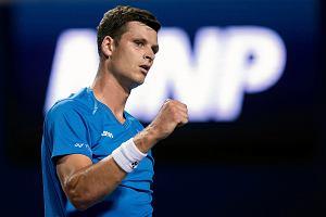 Awans Hurkacza w rankingu ATP. Coraz mniejsza przewaga Djokovicia