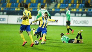 Michał Nalepa. Arka Gdynia - GKS Katowice 2:1