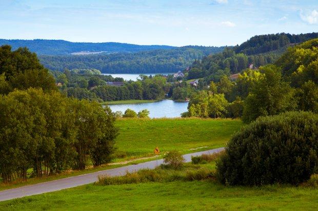 Miejsce często jest określane mianem Szwajcarii Kaszubskiej