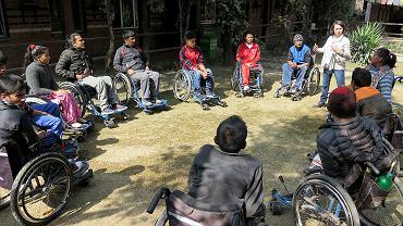 Kathmandu Therapy Camp - pomoc dla niepełnosprawnych w Nepalu