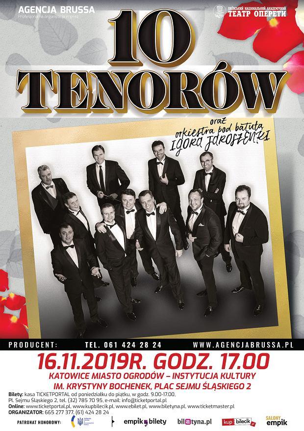 10 tenorów w Katowicach