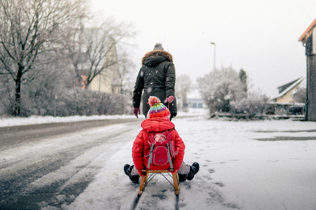 Ferie zimowe 2021 w czasie pandemii (zdjęcie ilustracyjne)
