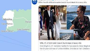 Daily Mail informuje o śmierci Elsie Mogford