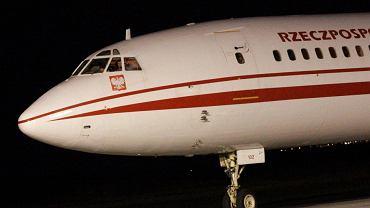 Prezydencki Tu-154 M o numerze bocznym 102
