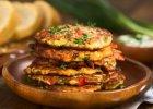 Omlet z cukinią i papryką - Zdjęcia