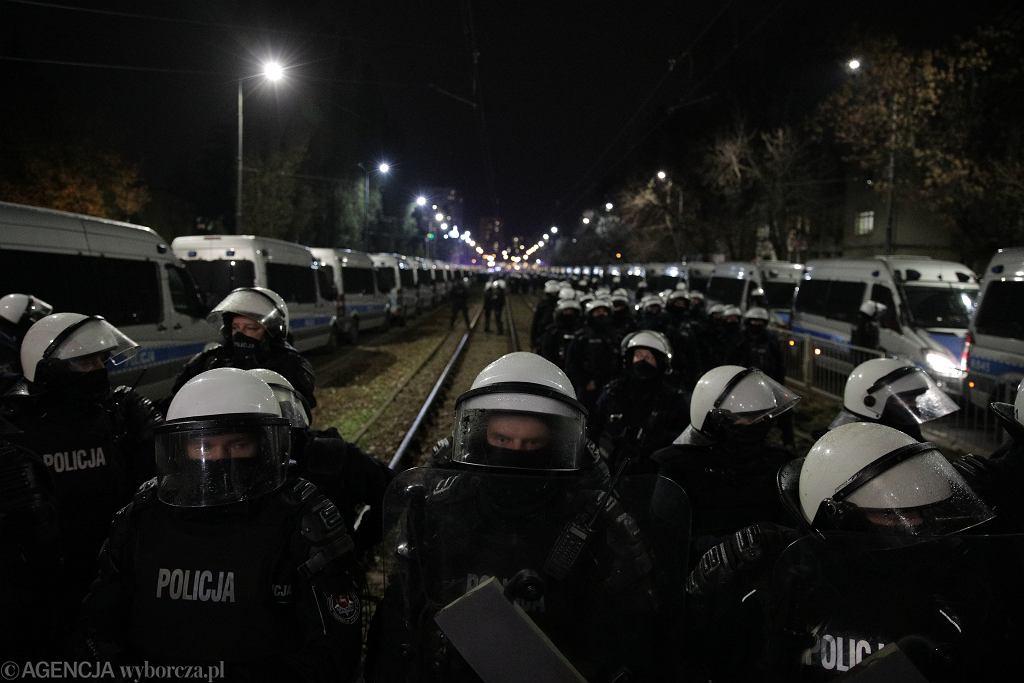 Policja na protestach