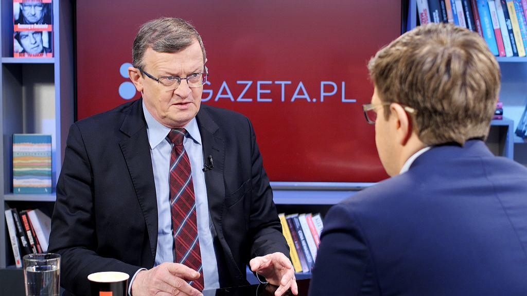 Tadeusz Cymański był gościem Porannej Rozmowy Gazeta.pl