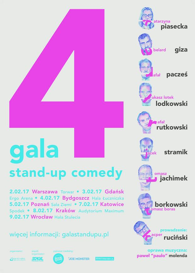 4 Gala Stand-up Comedy 2017