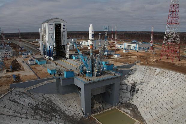 Wyrzutnia dla rakiet Sojuz, efekt pierwszego etapu budowy kosmodromu