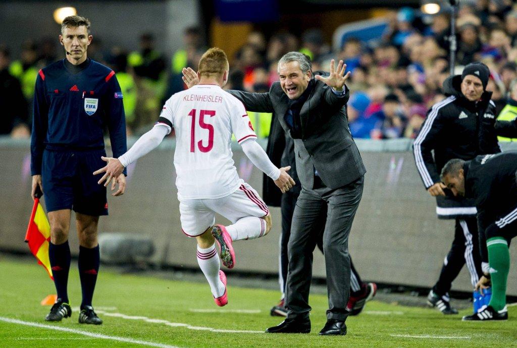 Węgrzy w meczu z Norwegią