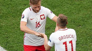 Polska - Irlandia Północna 1:0. Jakub Błaszczykowski i Kamil Grosicki