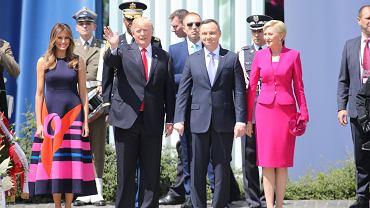 Wizyta Prezydenta USA w Polsce, lipiec 2018 roku