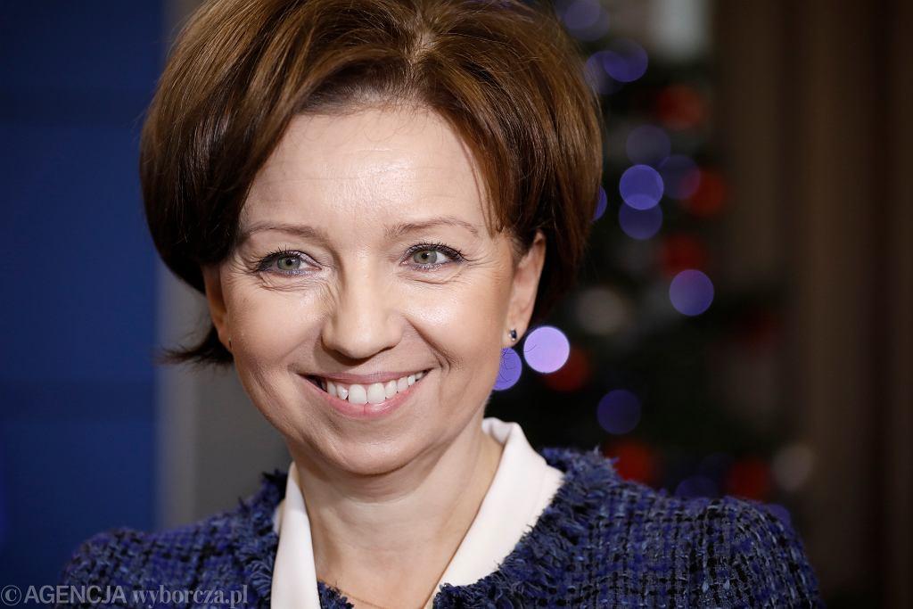 Minister rodziny Marlena Maląg
