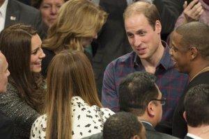 Kate Middleton, Beyonce, książę William, Jay-Z
