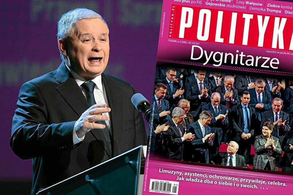 Okładka 'Polityki'