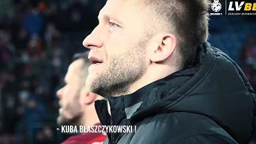 Jakub Błaszczykowski wysłuchał wzruszającej przemowy kibiców Wisły