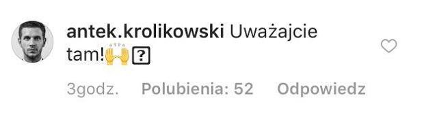 Komentarz Antoniego Królikowskiego