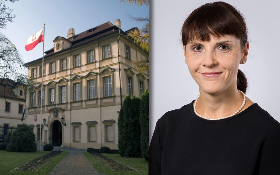 Ambasada RP w Pradze, ambasadorka Barbara Ćwioro