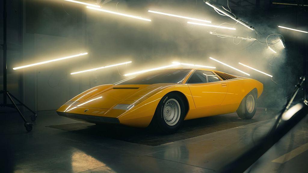 Lamborghini Countach, rekonstrukcja 50-letniej legendy