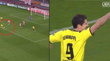 Pierwszy gol Lewandowskiego w Lidze Mistrzów