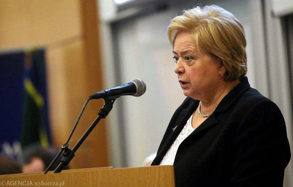 Prezes SN Małgorzata Gersdorf