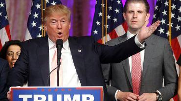 Donald Trump ustępuje