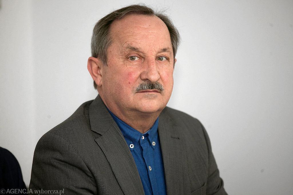 Jan Głowa, dyrektor Powiatowego Zespołu Szkół nr 1 w Krzyżowicach