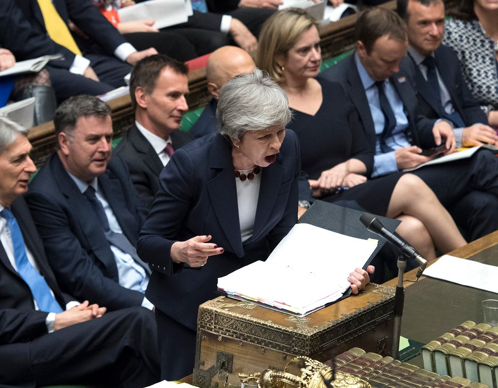 Brexit. Premier Theresa May w Izbie Gmin