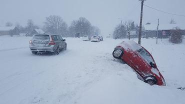 W całym regionie panują fatalne warunki na drogach. Trasa Augustów-Rajgród