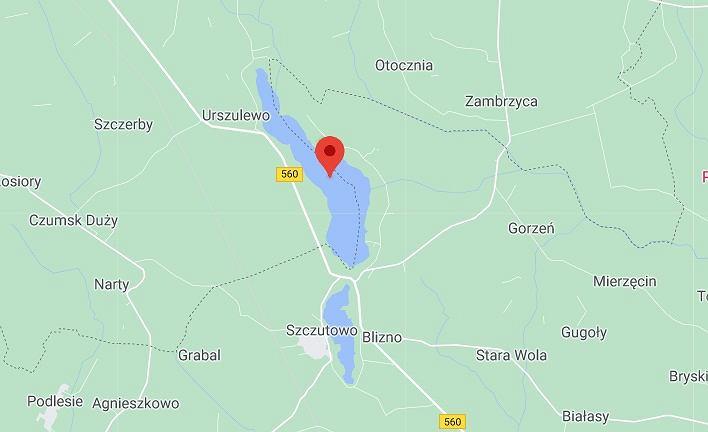 Jezioro Urszulewskie