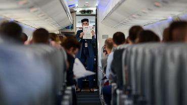 Pokład samolotu (zdjęcie ilustracyjne)
