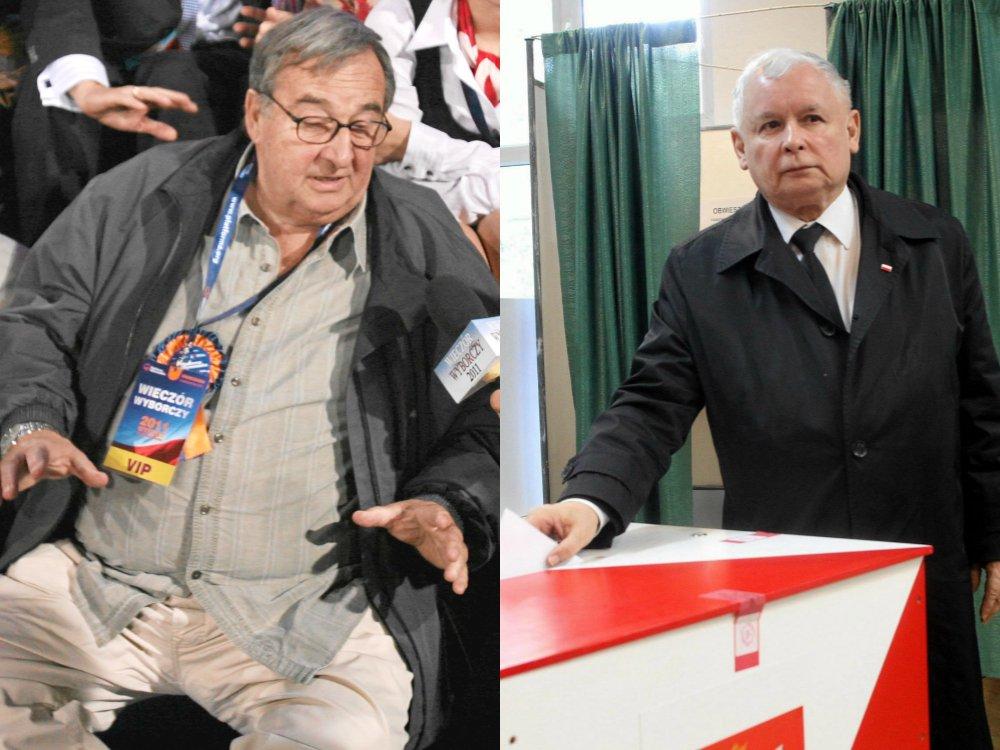 Krzysztof Kowalewski i Jarosław Kaczyński